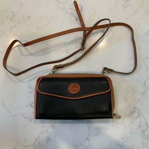 Vintage Dooney and Bourke wallet with Strap